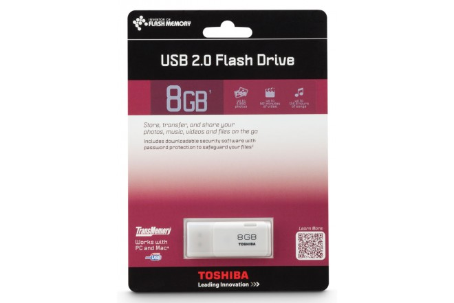 Memoria USB TOSHIBA 8GB Flash Drive 2.0