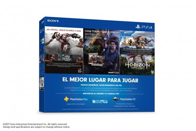 Consola PlayStation 4 PS4 Slim 500GB Hits Bundle 2-b