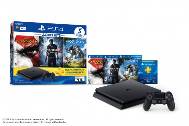 Consola PlayStation 4 PS4 Slim 500GB Hits Bundle 2-c