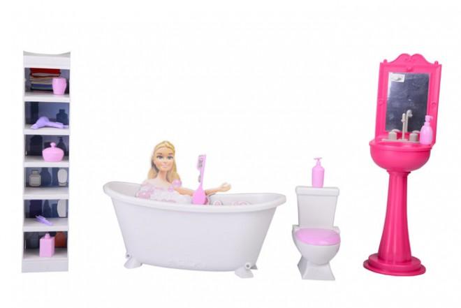 Set de baño Goldlok Rosado