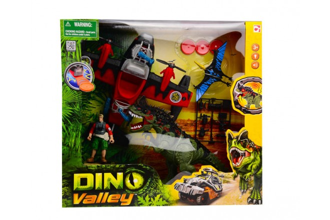 Playset dino valley Dino Striker Chap Mei