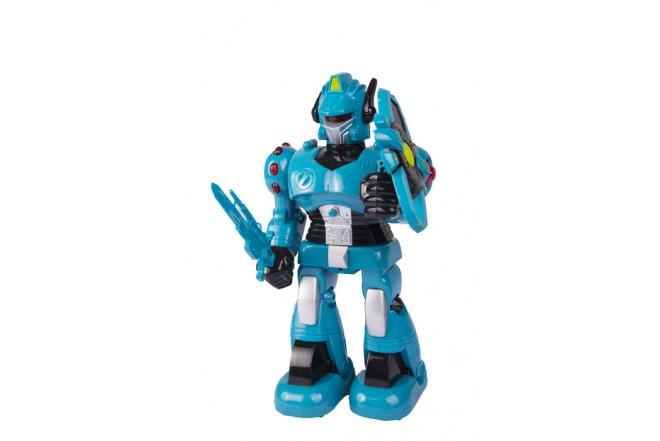 """Robot con luz y sonido 19"""" Happy Line Azul"""