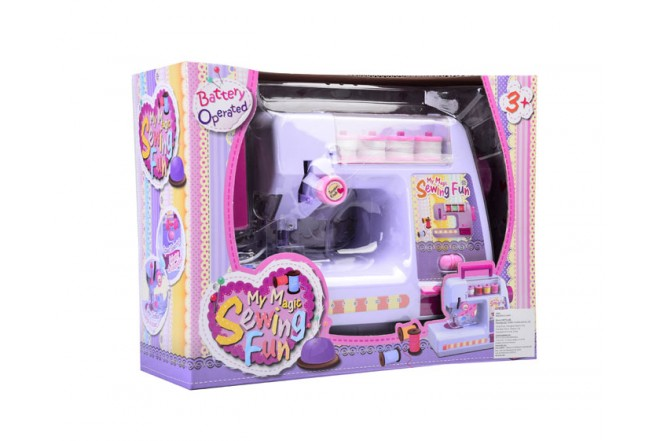 Máquina de coser Happy Line Rosado