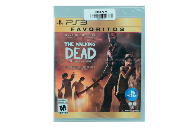 Juego PS3 SONY The Walking Dead