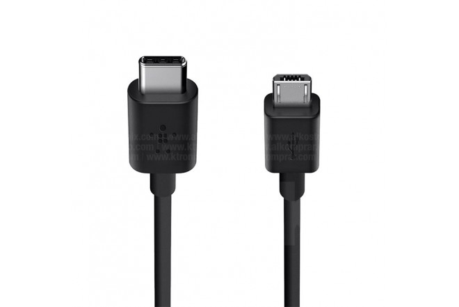 Cable BELKIN USB-C a MicroUSB 2.0