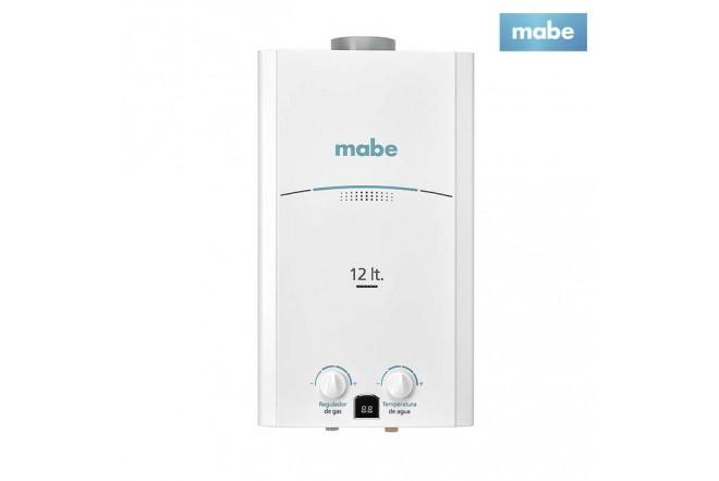 Calentador MABE de Tiro Natural 12L CMP12TNBC Blanco
