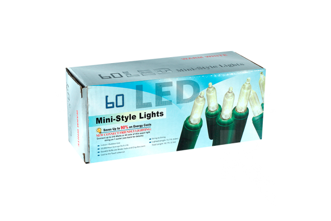 Luces Led 60 Bombillos Ref 819