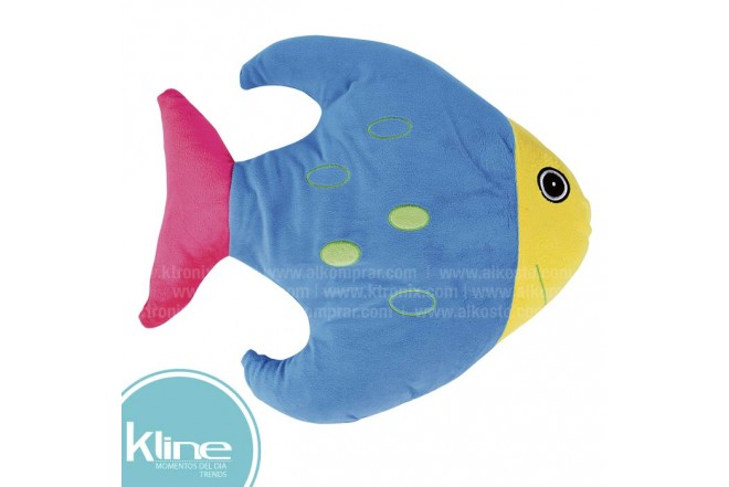 Cojín K-LINE infantil Pez Azul