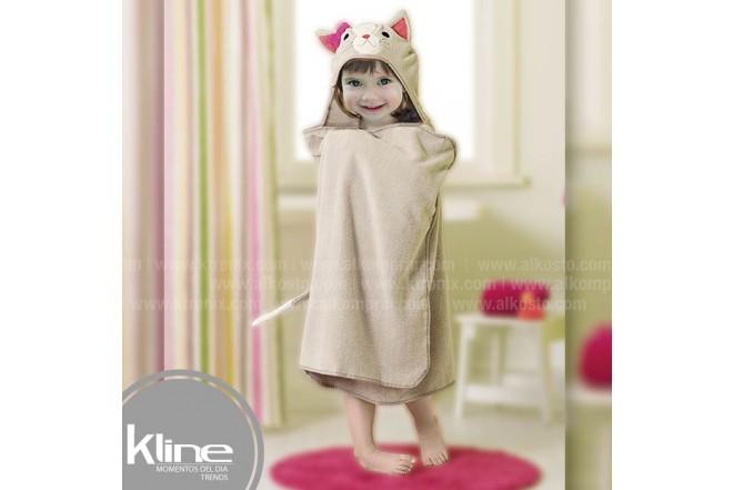 Toalla infantil K-LINE Gato