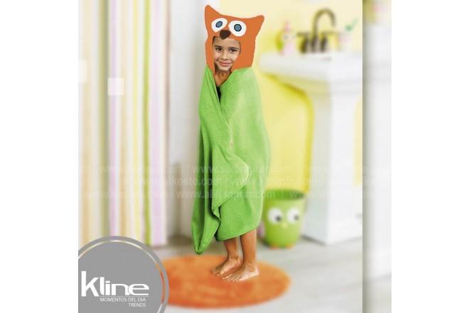 Toalla infantil K-LINE Buho
