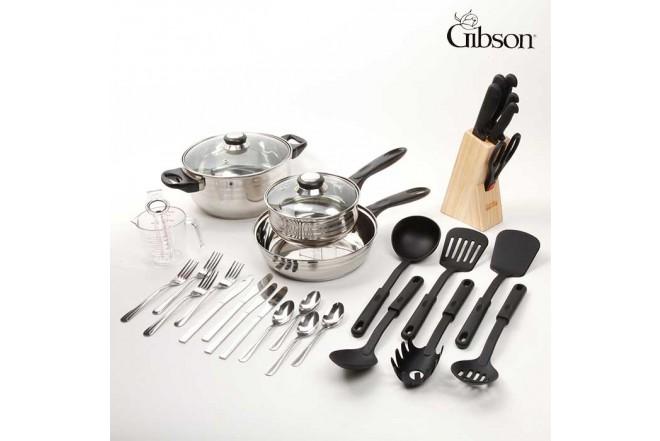 Set de Cocina GIBSON 32 Piezas