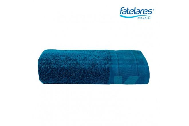 Toalla FATELARES atenea de cuerpo de 70 x 140 cm Azul