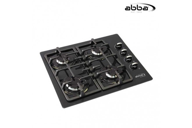 Cubierta ABBA 60cm CG 401 V5D Gas Natural Color Negro