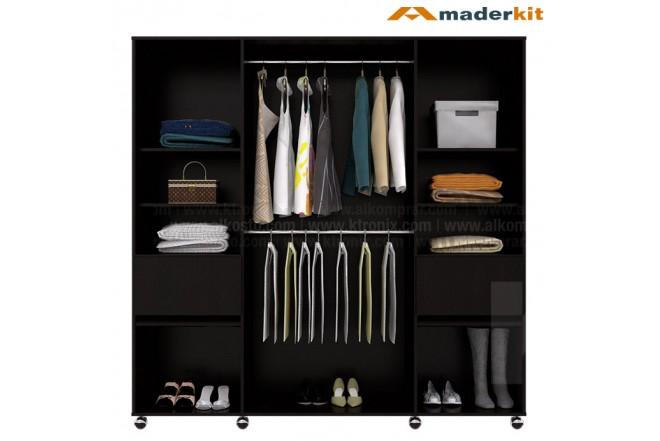Closet MADERKIT Nossa Wengue 00835-CL-W-R