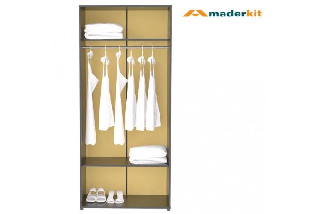 Armario MADERKIT Matrix 2 Puertas 00564-CL-N-R