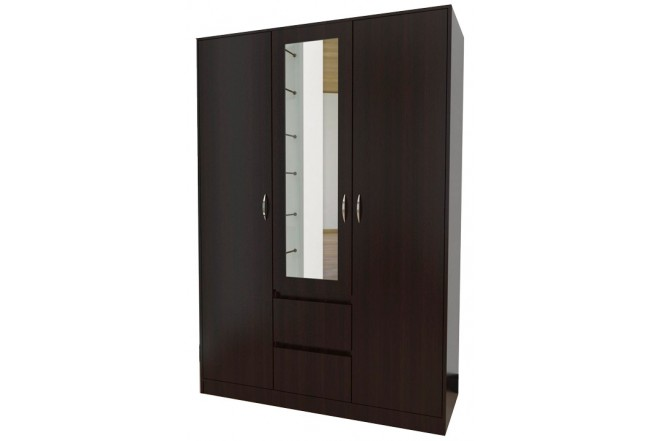 Closet Espejo MADERKIT Wengue