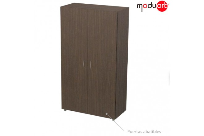 Armario 2 puertas MODUART Wengue 17240