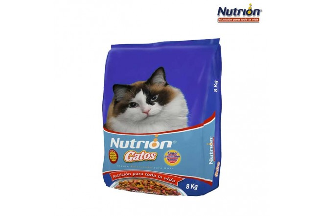 NUTRION Gatos 8 Kg