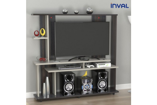 Centro de Video y Sonido INVAL CVS14202 Tabacco Chic - Chantilli