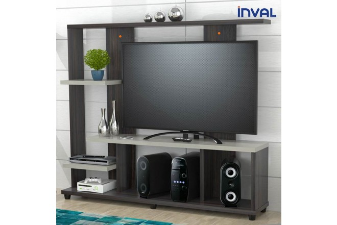 Centro de Video y Sonido INVAL CVS12802 Tabacco Chic - Chantilli