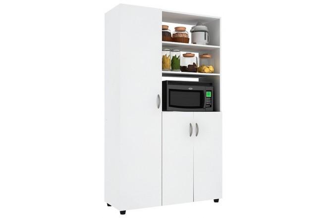Mueble auxiliar cocina practimac pm2000874 nevado - Muebles auxiliares cocina ...