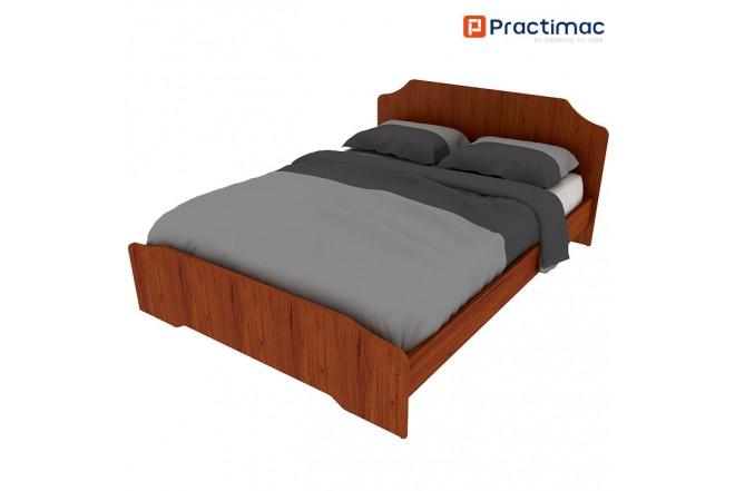 Cama Doble PRACTIMAC Arual Cedro 1.4 pm1100227