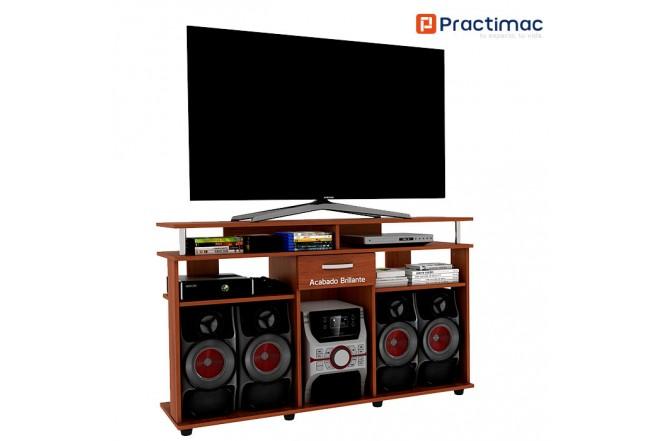 Mesa TV PRACTIMAC Splendor Cedro pm40020CE(B)