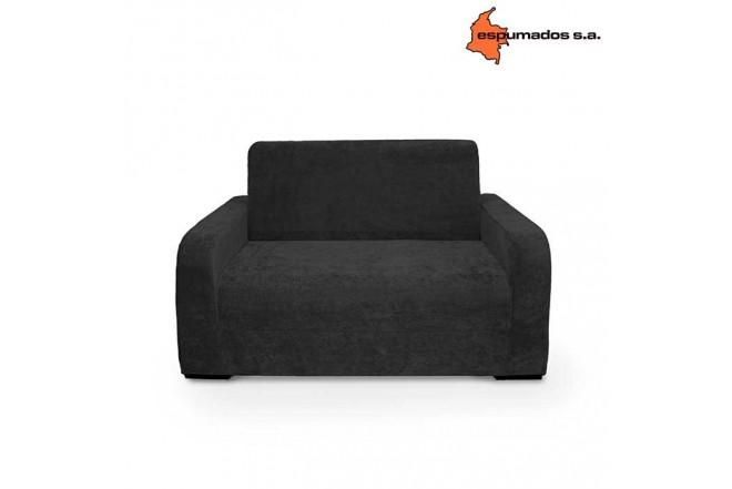 Sofa Cama ESPUMADOS Austin Chanel Negro