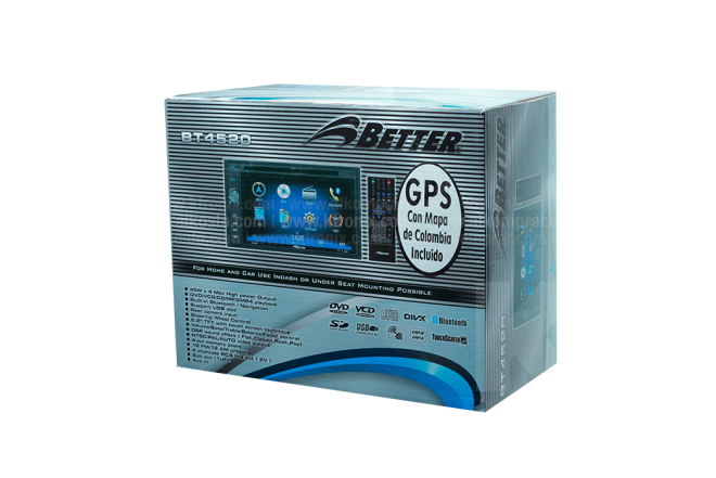 Radio DVD BETTER BT4520 GPS