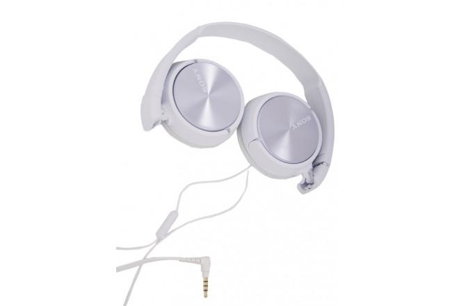 Combo Audífonos SONY Alambricos OnEar Blancos+InEar Blancos