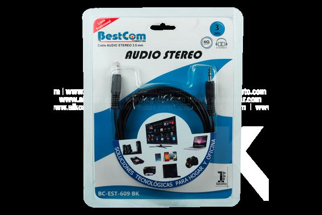 Cable BESTCOM Stereo Uno/ Uno 3 Mt