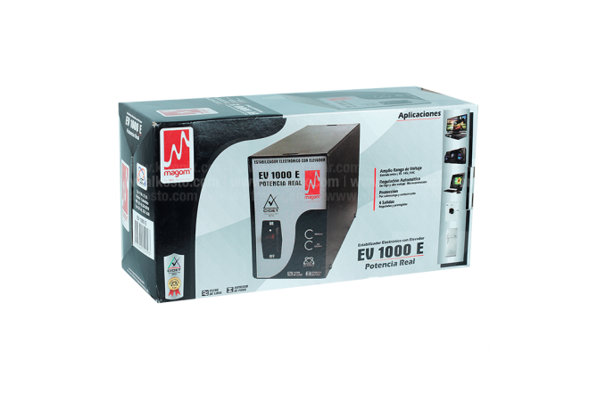 Regulador Voltaje Ev 1000e MAGOM