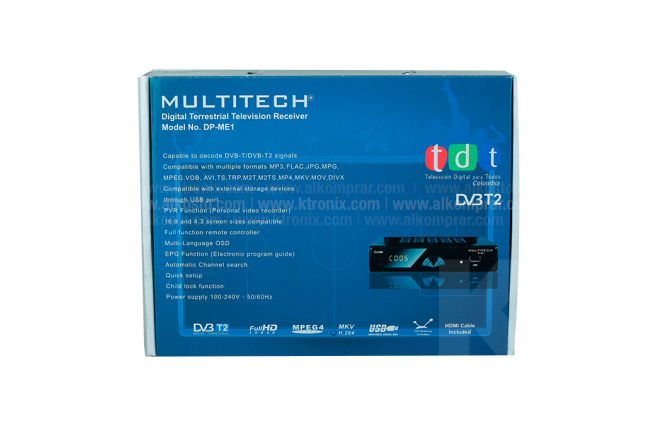Decodificador MULTITECH DP-ME1