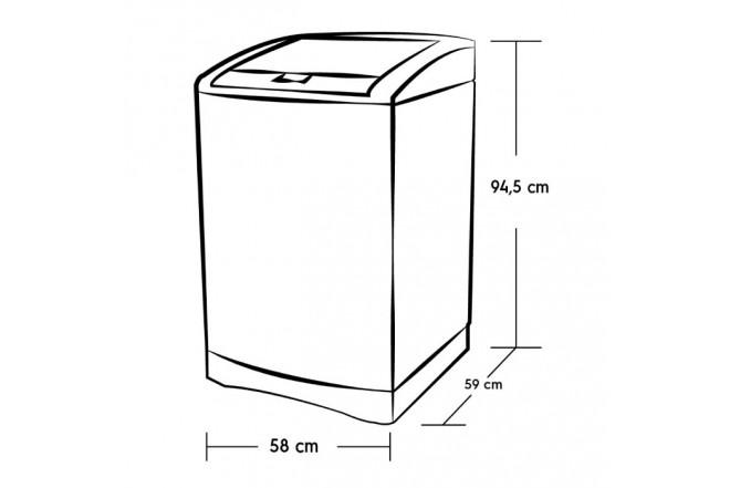 Lavadora ELECTROLUX 12KG EWIF12E3FSPS Inox