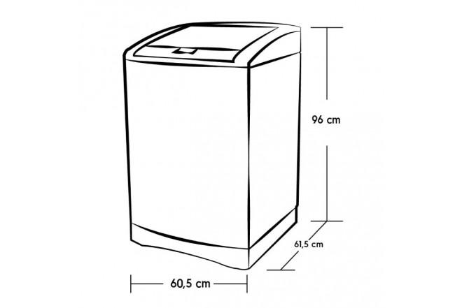 Lavadora ELECTROLUX 14KG EWIF14E3FSPS Inox