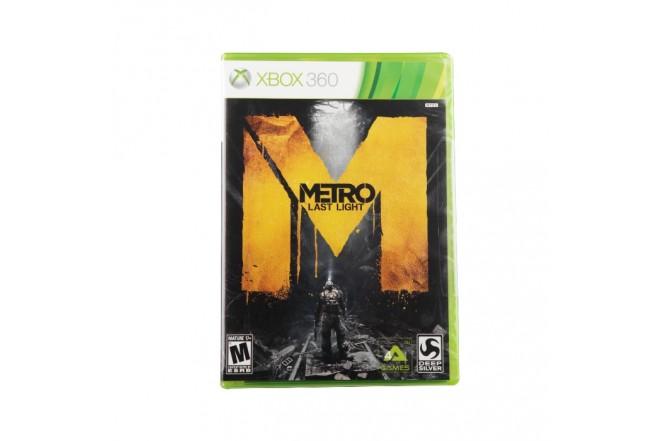 Video Juego Metro Last Light XBOX 360 (Videojuego Xbox)