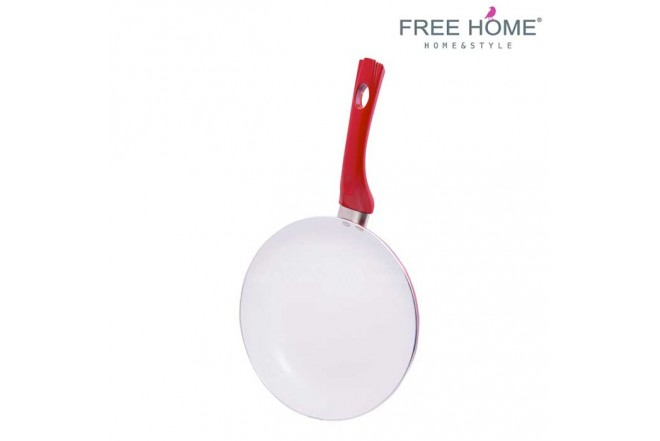 Sartén FREE HOME 24 Cms Rojo XT-004G