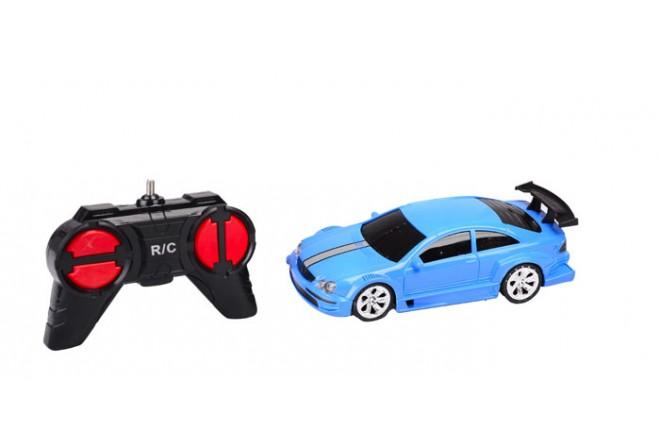 Auto deportivo radio control escala 1:24 Happy Line Azul