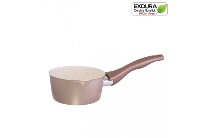 Cacerola EXDURA 14cm Beige Apta para estufas de inducción