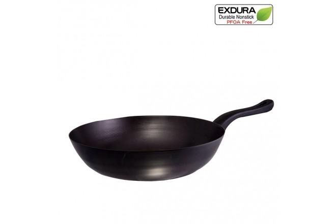 Sárten Wok EXDURA 30 cm COL136 Negro