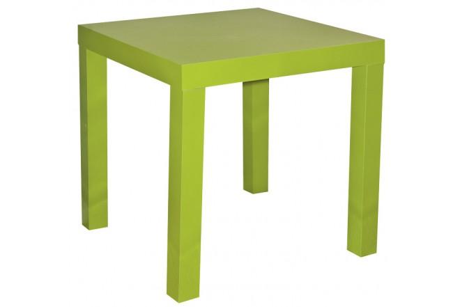 Mesa Auxiliar Verde de 45 X 45 CM