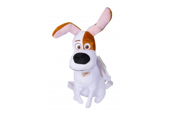 Mochila Max Secret Life Of Pets Blanco y marrón