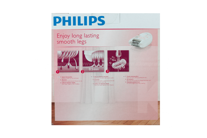Depiladora PHILIPS HP6420 Satinelle