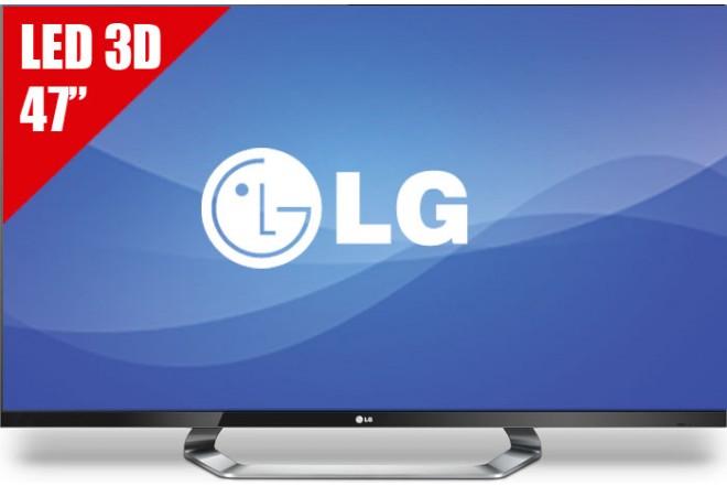"""TV 47"""" LED LG 47LM7600 FHD 3D"""