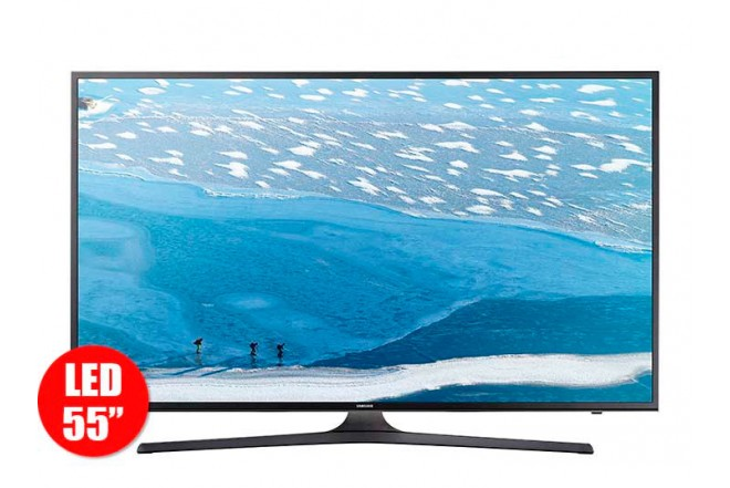 "Tv 55"" 140cm LED SAMSUNG 55KU6000 UltraHD Internet"