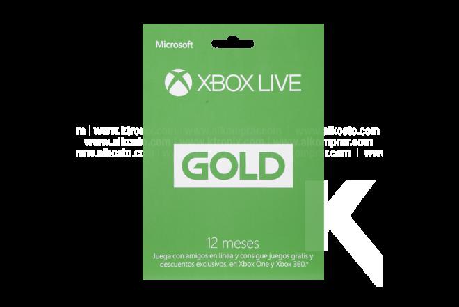Tarjeta XBOX LIVE 12 meses