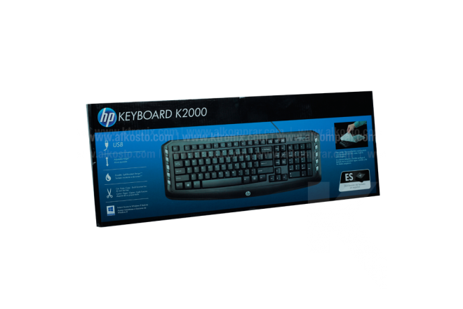 Teclado HP Alámbrico K2000