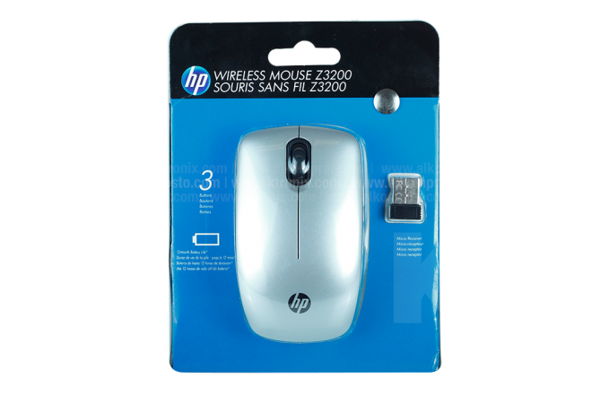 Mouse HP Inalámbrico  Z3200 Plateado Bluetooth