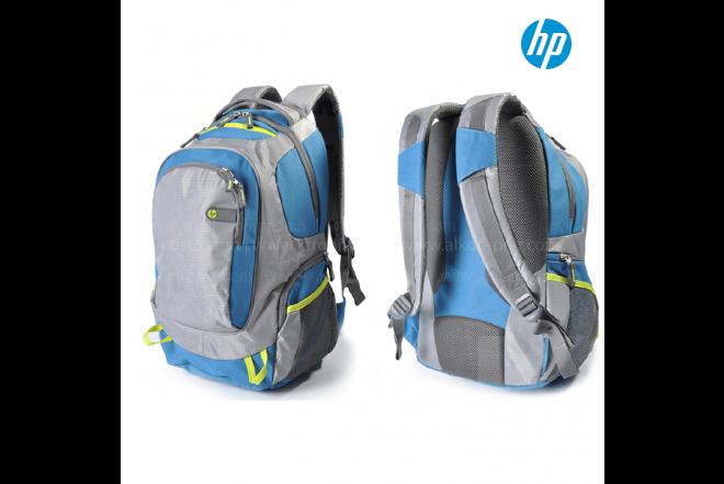 "Morral HP Outdoor 15.6"" Gris/Azul"