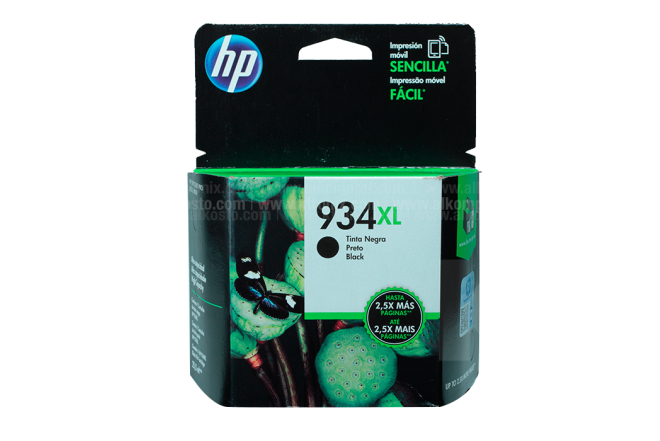 Cartucho HP 934XL Black Ink